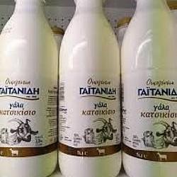 Γαϊτανίδης φρέσκο γάλα κατσικίσιο 1 λίτρο