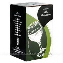 Μανωλάκης οίνος λευκός σε ασκό 5 λίτρα